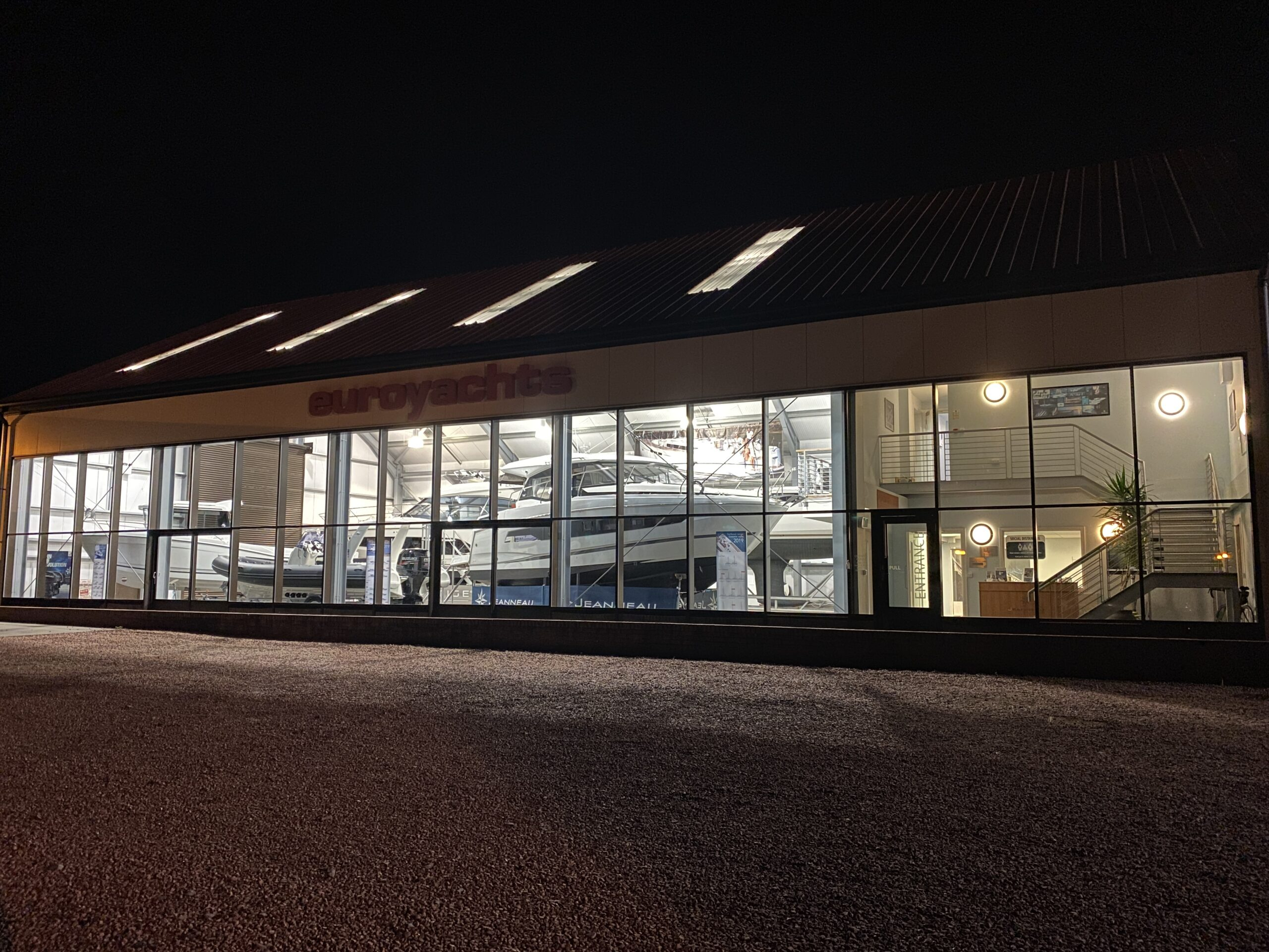 Euroyachts Showroom